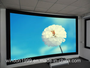 Curved Projection Screens with Custom Sizes pictures & photos