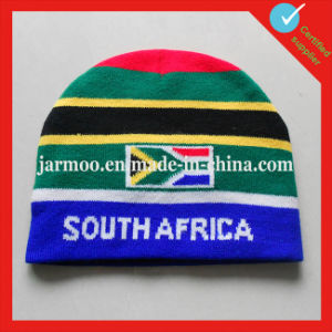 Customed Acrylic Jacquard Knitted Logo Beanies pictures & photos