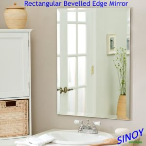 Bathroom Mirror with Double Coated Fenzi Paint in Customer Size and Shape pictures & photos