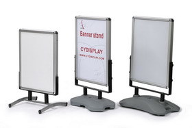 Iron Base a Board, Double Side Poster Board, Outer Sign Board pictures & photos