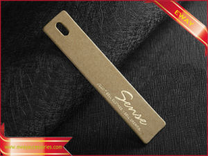 Hang Tag Hangtag Kraft Paper Tag for Garment (PP-HT-64) pictures & photos