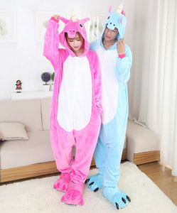 Unicorn Adult and Kids Animal Onesie Costume Pajamas