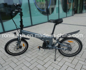 MID Mounted/Center Motor/Chain Drive Foldable 250W E Bike/Electric Bike/Bicycle/Pedelec W Built-in/Inside Frame Battery pictures & photos