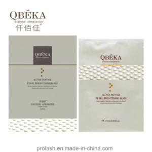 High Quality Skin Care QBEKA Active Peptide Pearl Efficiently Whitening Mask pictures & photos