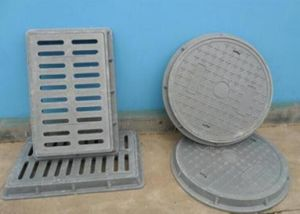 FRP Manhole Cover/FRP Trench Cover/Building Material/Pultrusion pictures & photos