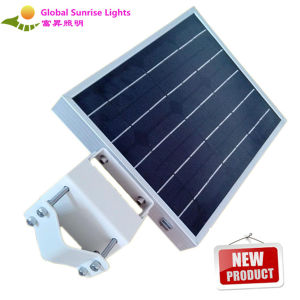 High Quality All-in-One LED Solar Street LED Lamp, with Camera, PIR Sensor, Solar Panel pictures & photos
