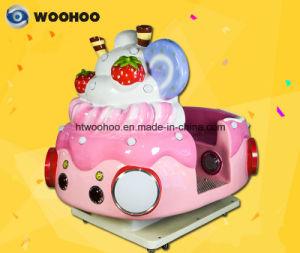 Coin Operated Machine Indoor Playground Ice-Cream Wobbler Swing Machine