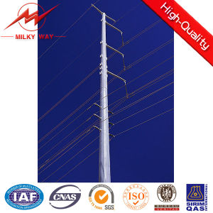 Utility Suspension Steel Slip Type Pole pictures & photos