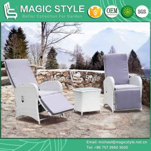 Wicker Relax Chair Rattan Relax Chair Pneumatic Chair Modern Adjustable Chair (Magic Style) pictures & photos