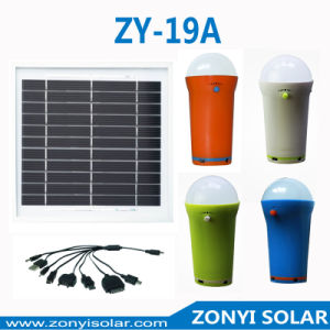 3W LED Solar Torch with Mobile Charger (solar camping light) pictures & photos