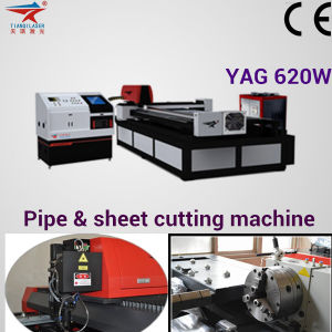 YAG Laser Cutting Machine for Different Thickness Metal Cutting pictures & photos