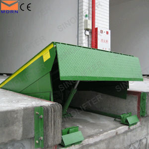 Morn Hot Sale12t Stationary Container Unload Ramp pictures & photos