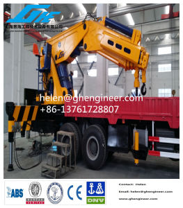 Hydraulic Knuckle Boom Truck Mounted Crane pictures & photos