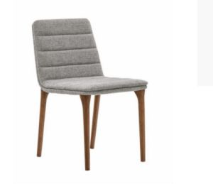 2016 Modern Design Ashwood Dining Chair with Fabric Cushion (DC011) pictures & photos