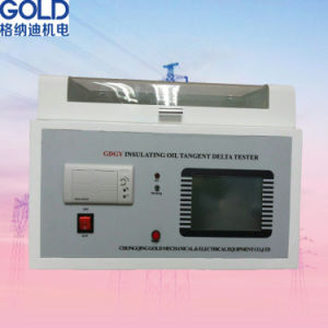 Transformer Oil Automatic Dielectric Loss Tester pictures & photos