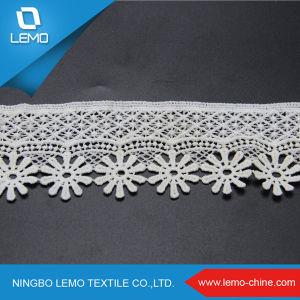 Popular Style Water Soluble Lace for Garment pictures & photos