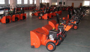 7HP Recoil&Electric Start Snow Blower (VST-212WL) pictures & photos