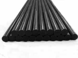 Pultruded Carbon Fiber Rod, Carbon Fiber Bar, Carbon Fiber Stick pictures & photos