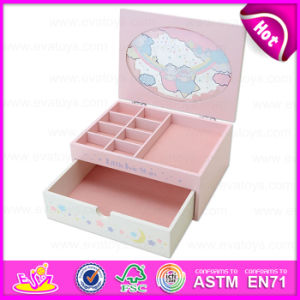 Special Classical Cheapest Wooden Jewelry Box for Girls, Wholesale Fashion Kids Wooden Jewelry Box for Promotion W09e004 pictures & photos