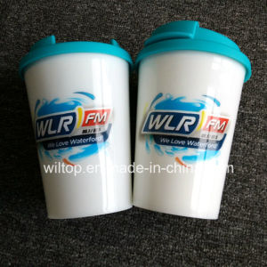 Plastic Promotinal Auto Mugs (PM246) pictures & photos