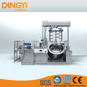 1000L Cosmetic Vacuum Emulsifier Mixer for Cream Suppository Soft Gel pictures & photos