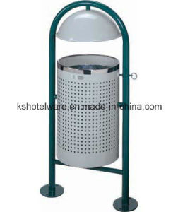 Outdoor Garbage Can with Innner Bin pictures & photos