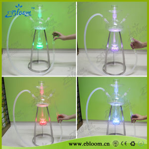 New Medusa Glass Hookahs with Metal Standing Table