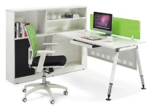 Modern MFC Staff Computer Desk with Hutch Office Furniture (HF-CA001) pictures & photos