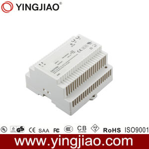 80W12V 7A DIN Rail Power Adapter pictures & photos