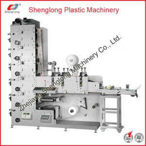 Adhesive Label Automatic Flexographic/Flexo Printing Machine (Printer Machine) pictures & photos
