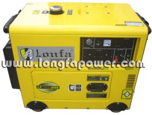 Super Silent 7kVA Silent Diesel Generator for South Africa pictures & photos
