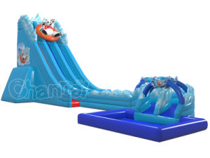 North Pole Bear Inflatable Water Slide for Water Park (CHSL1112) pictures & photos