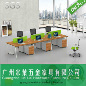Fashion Office Staff Table Office Desk with Steel Foot pictures & photos