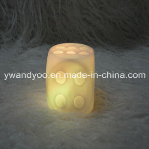 Hot Sale Flameless Green LED Candle pictures & photos
