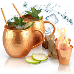 Perfect Moscow Mule Copper Mugs for Cocktails and Cold Drinks pictures & photos