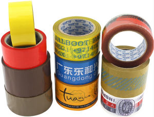 High Tensile BOPP Packing Adhesive Tape (ST-015) pictures & photos