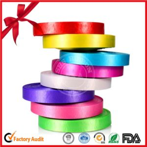 Festival Decoration Colorful Printed Ribbon Roll pictures & photos