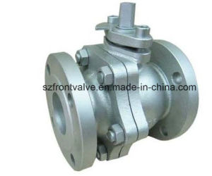 Cast Iron/Ductile Iron JIS Flanged Ball Valve pictures & photos