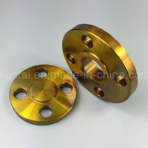 A105 So Flange Forged Flange with Yellow Coating (KT0056)) pictures & photos