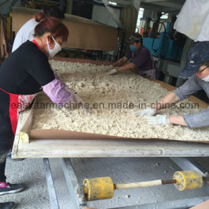 Semi Automatic Quartz Slab Production Line with Press Machine pictures & photos
