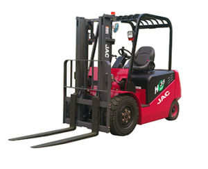 Battery Forklift 3 Ton/JAC Forklift with Battery pictures & photos