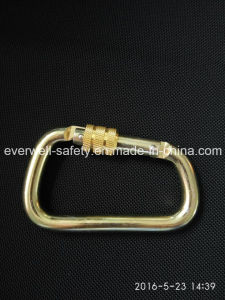 Threaded Lock Safety Hook Spring Carabiner (C303) pictures & photos