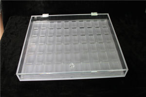 Contact Lens Display Stand, Acrylic Contact Lens Organizer Box pictures & photos