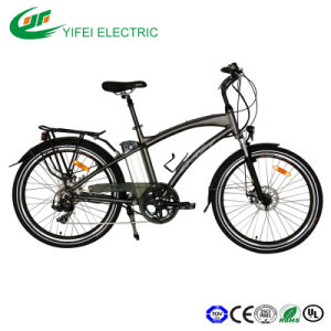 26inch Good Quality City Electric Bicycle 936V 10ah) pictures & photos