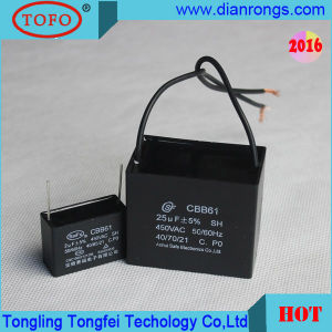Cbb61 Sh 3UF Polypropylene Film Capacitor for Fan pictures & photos