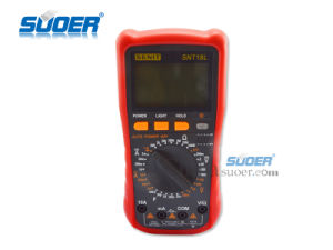 The Newest Digital Multimeter (SNT18L) pictures & photos