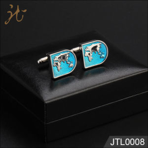 Fashion Nice quality Hot Sale Cuff Link with Map Design pictures & photos