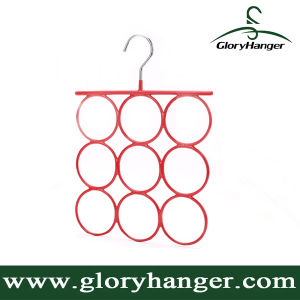Wholesale Metal Scarf Clothes Hanger for Woman Garment PVC Steel Display Rack Pant Hanger (GLMH001) pictures & photos