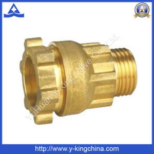 Brass Compression Fitting for Pipe Coupling (YD-6049) pictures & photos
