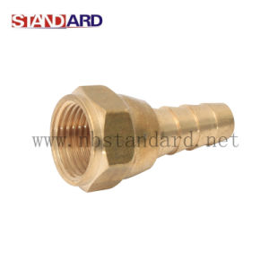 Brass Nipple Gas Fittings pictures & photos
